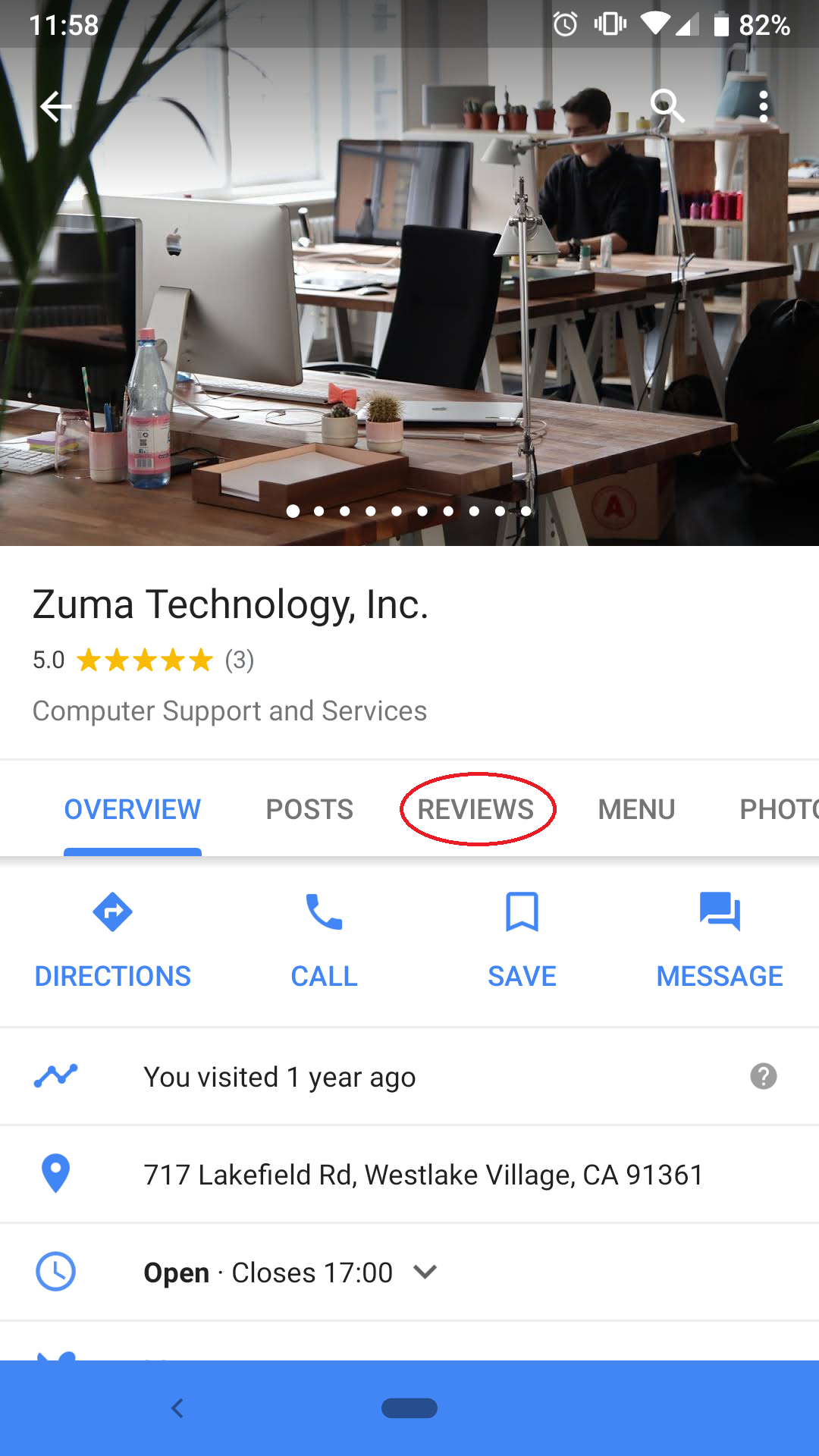 How To Leave A Google Review - Managed Service Provider
